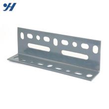 Carta de dobra perfurada desigual do peso do ferro do ângulo do zinco da estrutura de aço de dobra fria