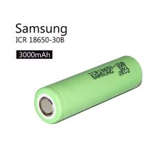 Icr18650-30b Ion de lítio verde recarregável 18650 bateria de iões de lítio 3.7V 3000mAh