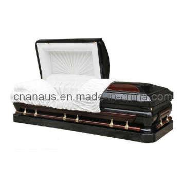 US Style 18ga acier/Solid Cherry cercueil (MW001H)