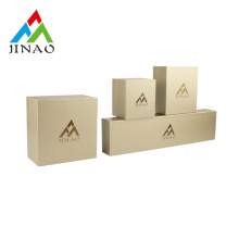 Handmade Gold Leatherette Jewelry Box Set