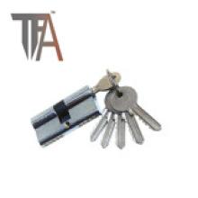 Cilindro de bloqueo abierto de dos lados con cinco llaves normales
