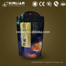 Bolsa de aluminio de calidad superior con cremallera