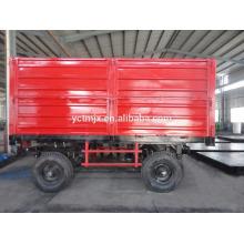 High Hurdle 3 Way Remorque agricole Tracteur Remorque