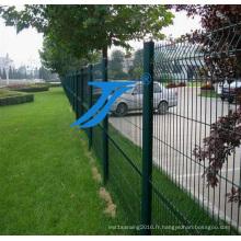 Barrière d'isolement d'entrepôt, barrière de treillis métallique soudée par atelier,