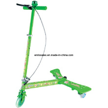 3 Wheel Power Wing Scooter, Single Action Folding Design Kick Scooter (ET-PW002)
