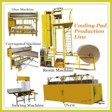 Evaporative cooling pad making machine/ production line