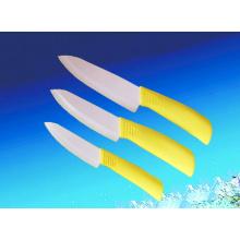Yellow Ceramic Knife, Kitchen Knife, Utility Knife (A456)