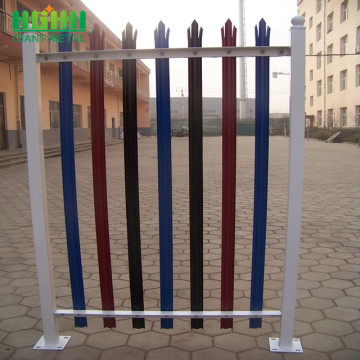 Anti Climb Palisade Fence used for home garden