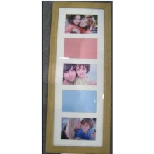 5 Opening 4x6inch Collage Wooden Photo Frame