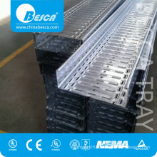 Galvanised Perforated Metal Cable Tray with Joint Plates with CE and UL Listed(ISO9001 Authorized )