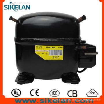 Compresseur de réfrigérateur Sc12W R134A Compresseur