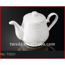 Crockery tea pot for hotel & restaurant (No.T0024)
