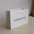 Custom Logo Gift Bag Hochwertige Einkaufstüten Papiertüte mit Logo-Print