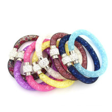 Hot Sell Fashion Pretty Genuine bracelet en diamant acrylique