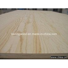 Uso comercial de la madera contrachapada de la chapa del pino para los muebles