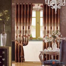 Véritable vente de rideaux royaux de luxe dernier rideau design pour hôtel