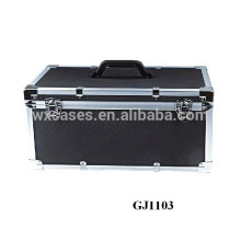 heavy duty aluminum tool box with a handle on the top