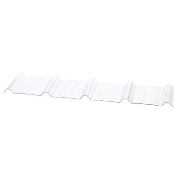 PC Transparent Polycarbonate Corrugated sheet