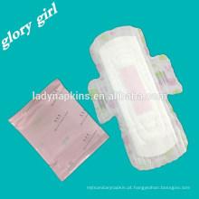 Guardanapo sanitário do perfume colorido do Duluxe para o uso fêmea