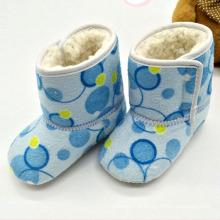 Sapatos de bebê da menina Botas de bebê Botas de bebê de inverno (Kx715 10)