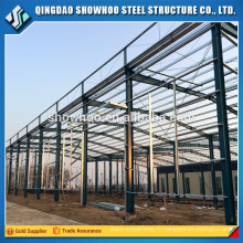 Prefab Building Large Span Construction Light Steel Frame Structures