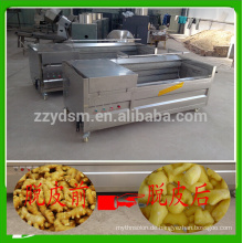 high efficiency industrial ginger cleaning machine /washing machine with automatic discharge port