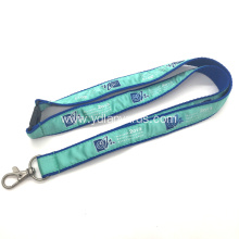 Professional Imprinted Polyester Woven Lanyards
