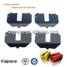 Hot sale anti-noise panel shim for BMW brake pad (OE:34211163324)