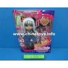 Venta caliente el último juguete plástico de la muñeca del juguete del bebé (864410)