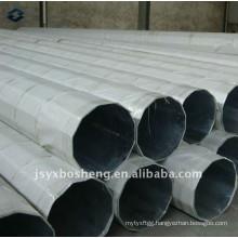 Polygonal Galvanized Electric Steel Pole