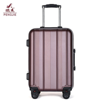 Hard case traveling troli ABS bagasi kabin