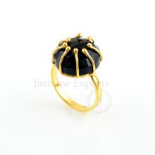 Black Onyx 925 Sterling Silver Ring