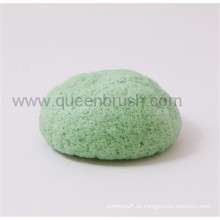 Hautpflege-Werkzeuge Trockener Grüner Tee Japan Konjac Schwamm