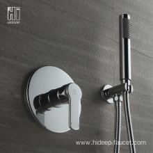 HIDEEP Single Function Full Copper Shower Faucet Set