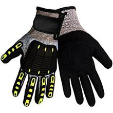 EN388 Certificate Safety Work Level 5 Cut Resistant Impact Gloves