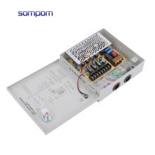 SOMPOM 85% efficiency 12V 5A 4CH cctv camera power supply cctv accessoires