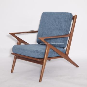 Cadeiras de tecido de madeira Frame Selig Z