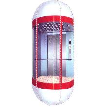 Halbkreis-Kabine für Panorama-Aufzug