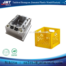 plastic injection transport HDPE crate mold