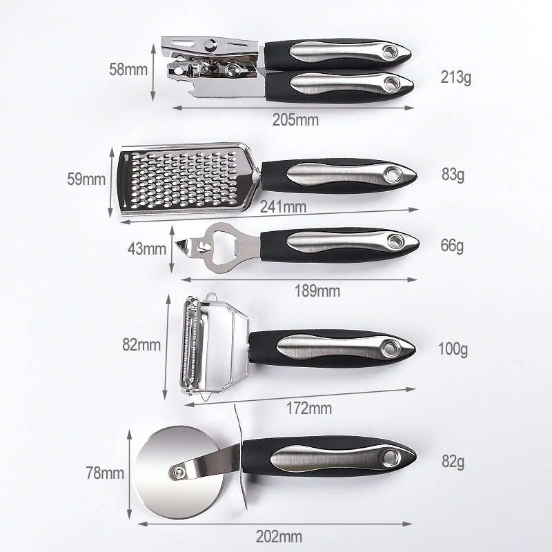 Steel Kitchen Utensil Set