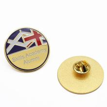 Custom Metal Enamel Sports Football Club Soccer Lapel Pin Badges