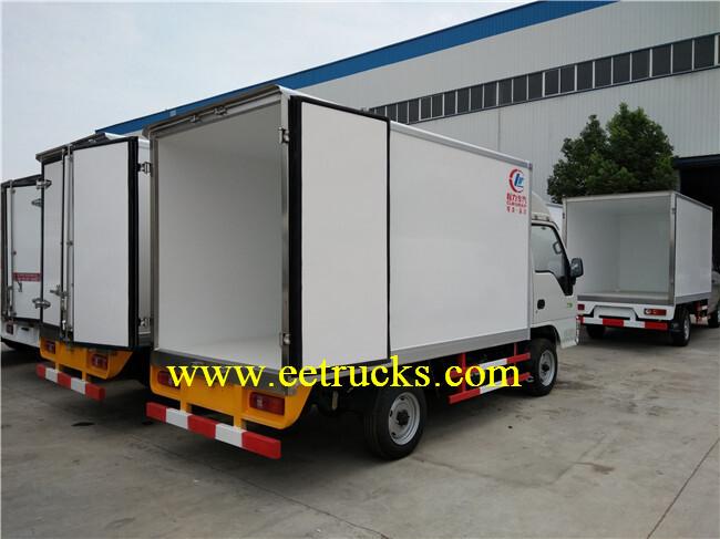 Light Duty Refrigerated Trucks
