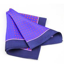 Pañuelo de bolsillo de seda al por mayor de lujo