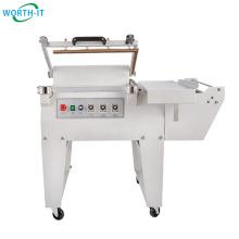 China Manufactory pet bottle pizza wrapping heat shrink film machine
