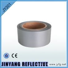 tecido de poliéster prata tela projeção reflexiva