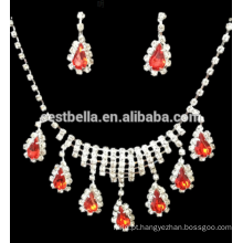 Cheap Jewelry Sets Party Bridal Rhinestone Necklace E Brincos BridalJewelry Sets Design para casamento