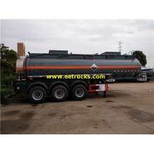 18000L Tri-axle Dilute Sulfuric Acid Transport Trailers