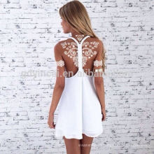 YINCAI 1 Hoja de Encaje Blanco Diseño de Flores de Novia de Henna Tatuaje Impermeable Calcomanía Temporal