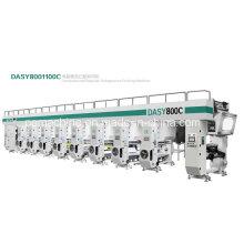Alta velocidade 8 máquinas de impressão de rotogravura cores (150m / min)