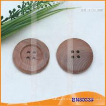 Bouton à boutons en bois Bouton rond bouton BN8033